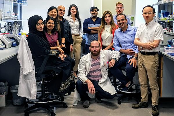 Research group of Kourosh Salehi-Ashtiani at NYU Abu Dhabi