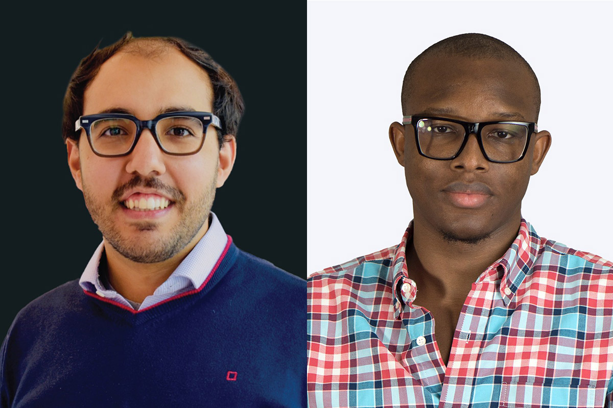 Khalil Ramadi and Ayoola Brimmo announced as ''Innovators Under 35' in the MENA region 2020