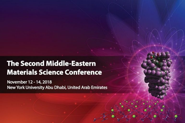 The Second Middle-Eastern Materials Science Conference