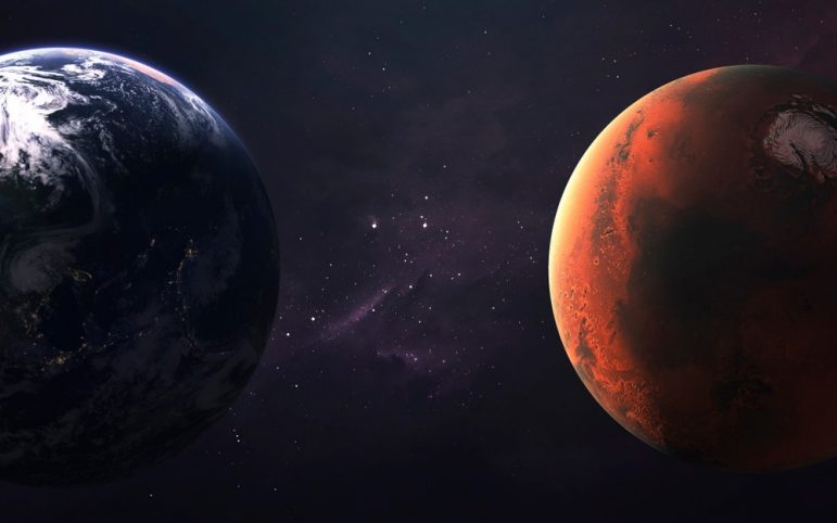 Finding Oil and Understanding Earth and Mars