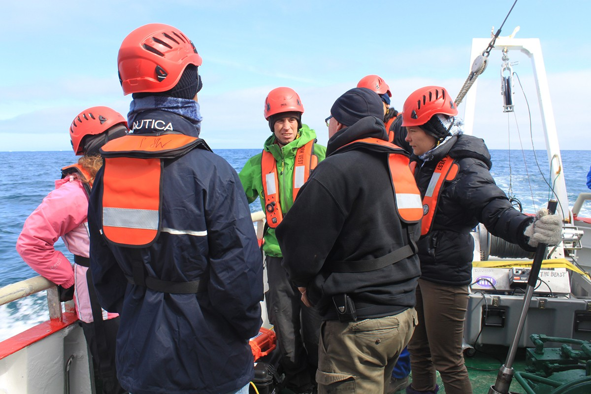 Understanding Oceanography on a Research Expedition to Greenland