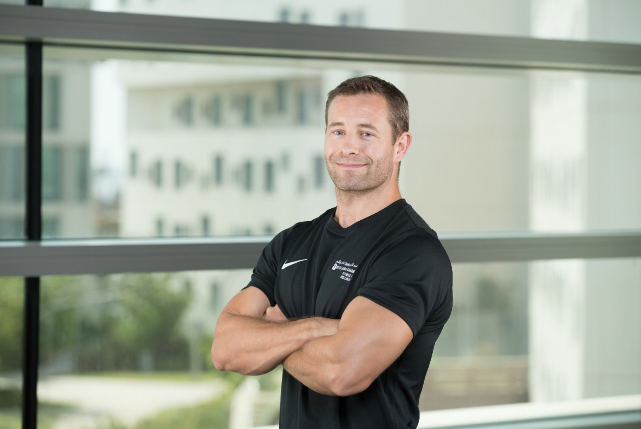 NYUAD Strength and Conditioning Coach Huw Jones
