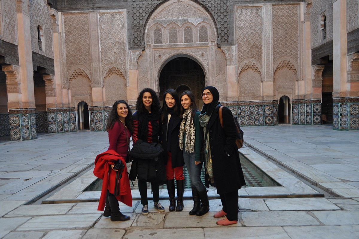 Amani Alsaied, NYUAD Class of 2014, shares her travel experience with the Interwoven Pasts of Spain and Morocco January Term course.