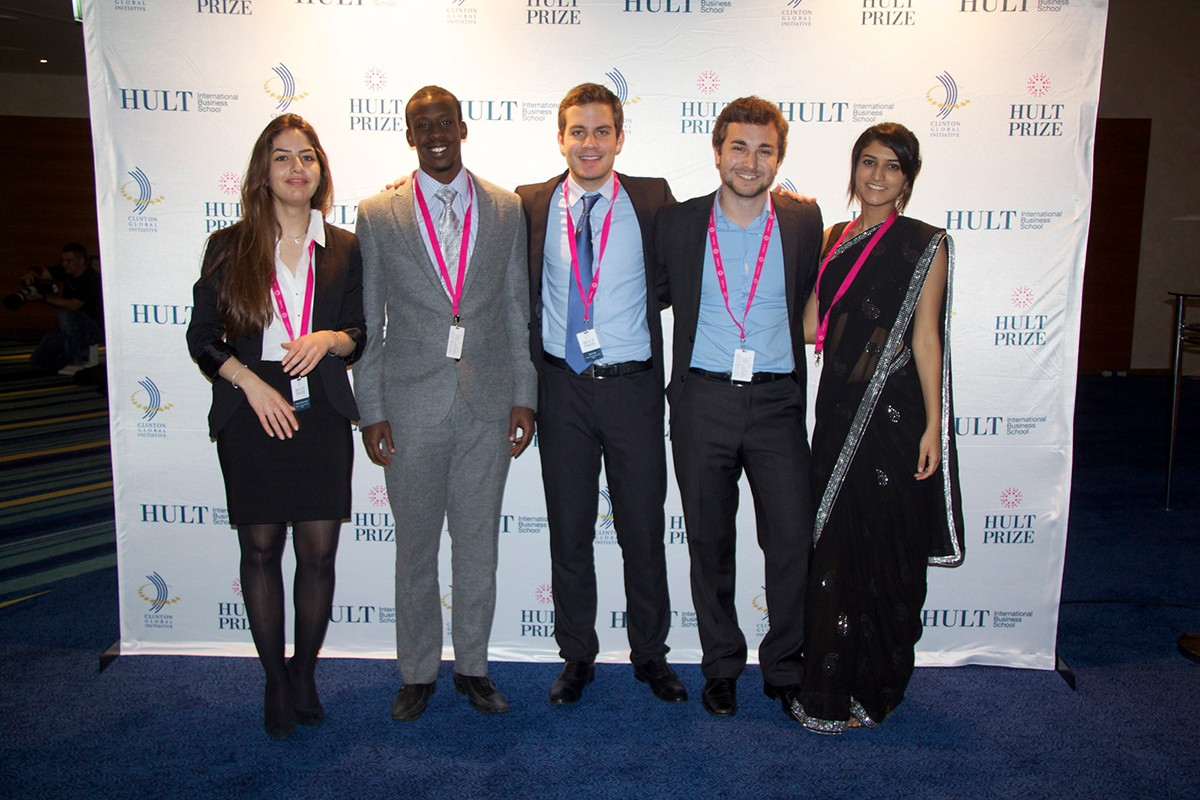 Top Four at Hult Prize Regional for NYUAD Team
