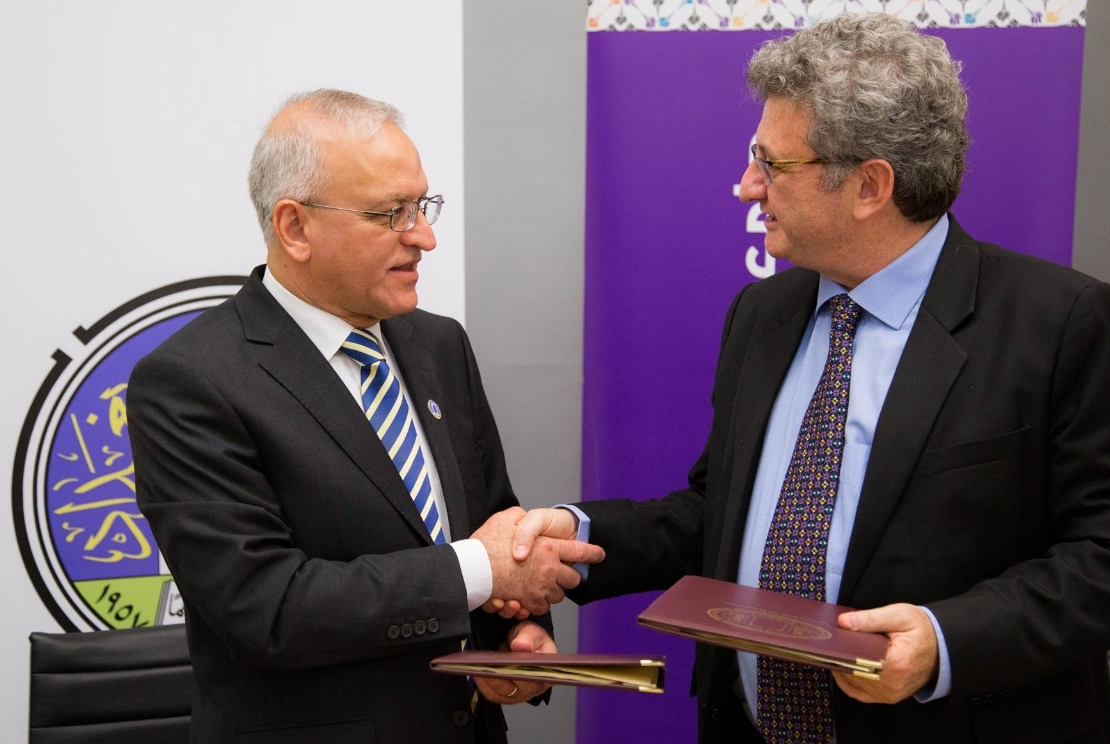 NYUAD, University of Baghdad Sign Research Agreement