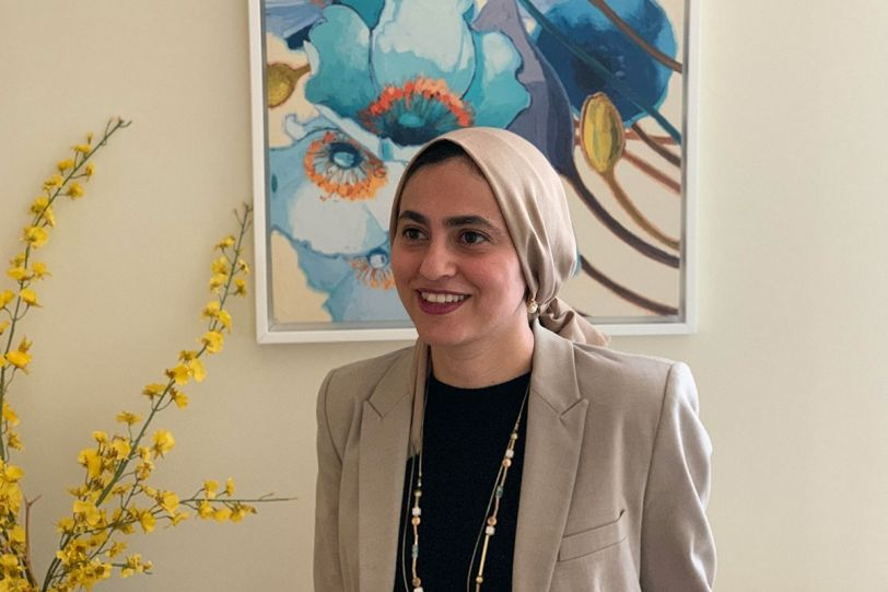 Assistant Professor of Computer Science Azza Abouzied.