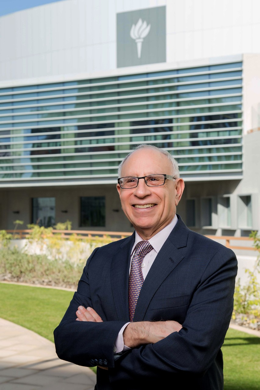 NYU Abu Dhabi Vice Chancellor Al Bloom