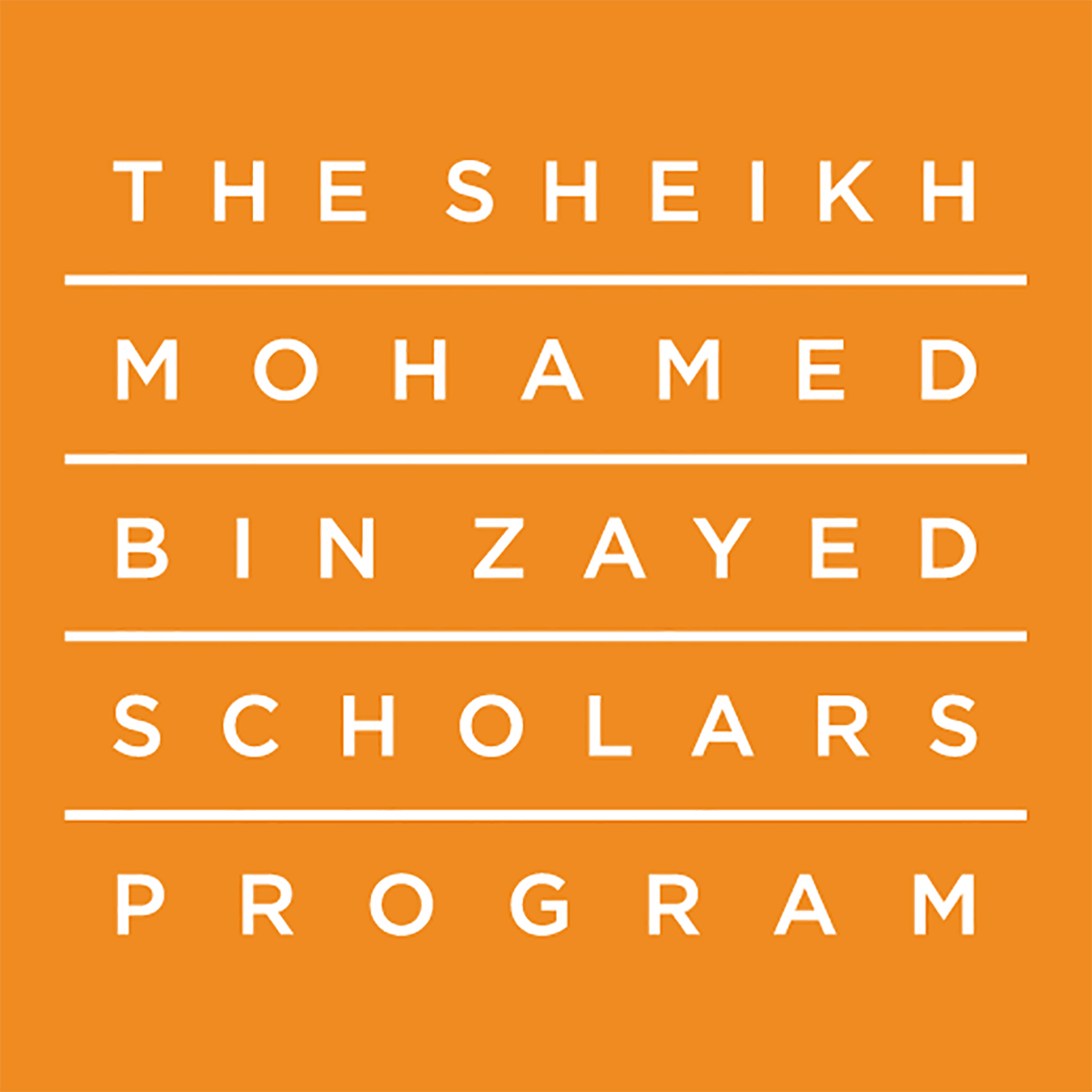© Sheikh Mohamed bin Zayed Scholars Program @ NYUAD