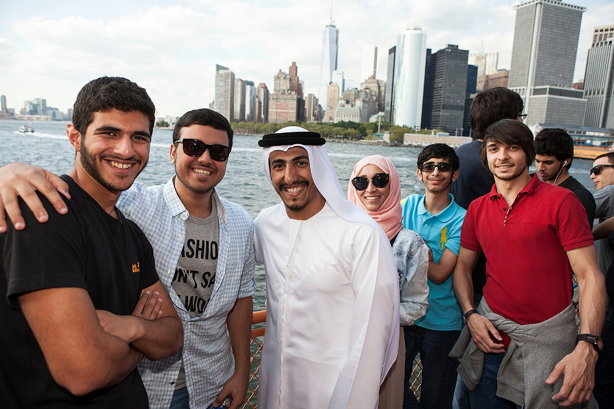 2013 NYU Abu Dhabi Summer Academy trip to New York City.