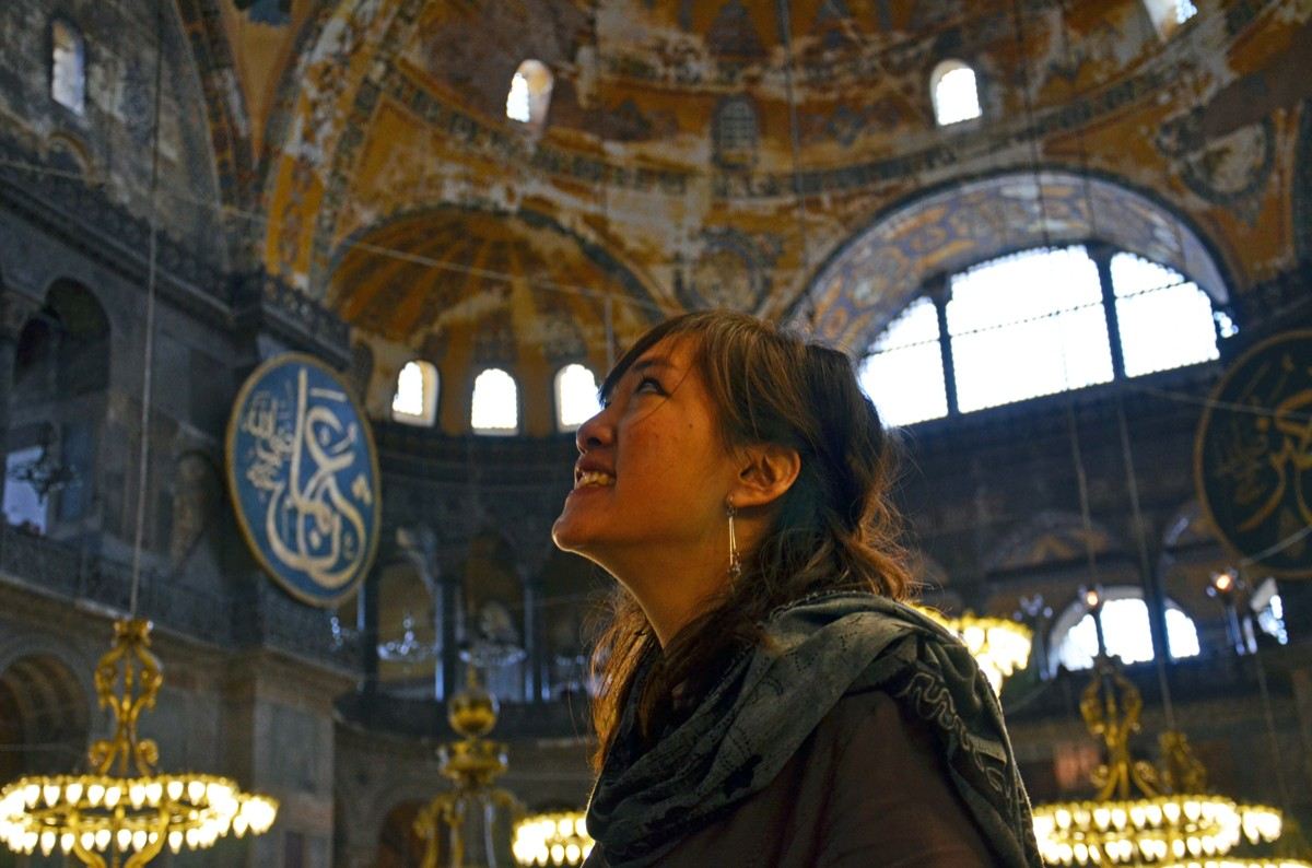 Ancient and Modern Collide on Spring Break in Istanbul