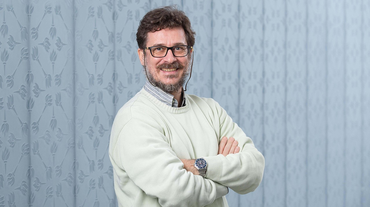 Francesco Paparella,  Associate Professor of Mathematics, NYUAD