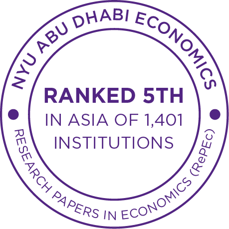 NYUAD Economics is ranked 4th in Asia of 1,401 Institutions