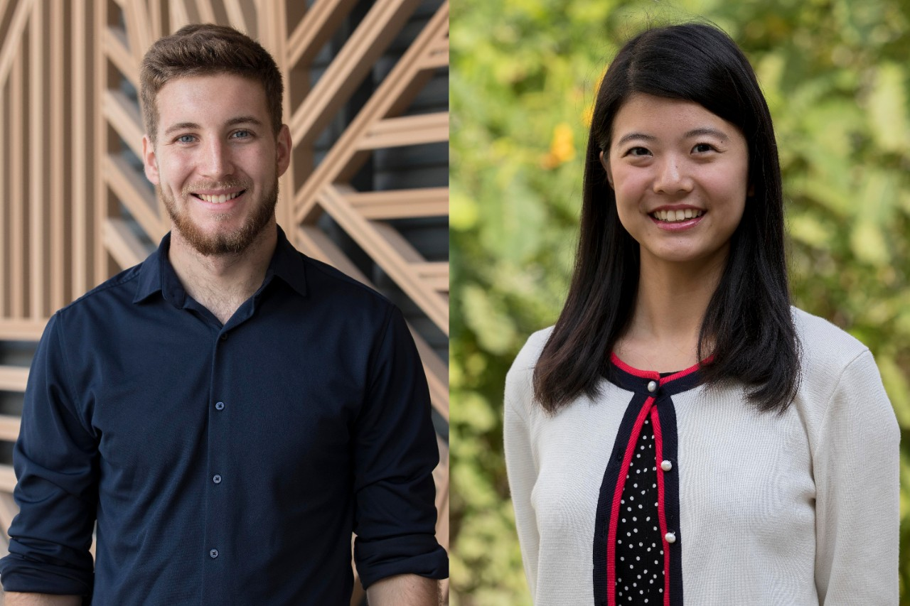 Two NYU Abu Dhabi seniors named Schwarzman Scholars