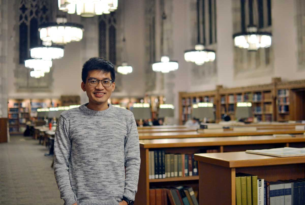 Alumnus Nghiem Huynh is at Yale University getting his PhD.