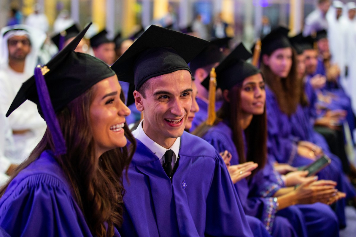 NYUAD Honors Class of 2018 at its Fifth Graduation Ceremony