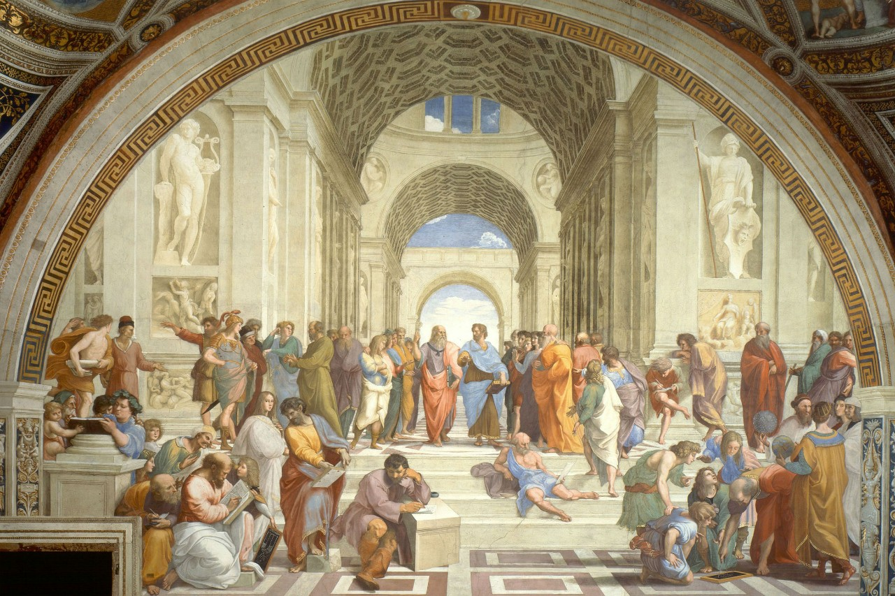 *The School of Athens* by Raphael