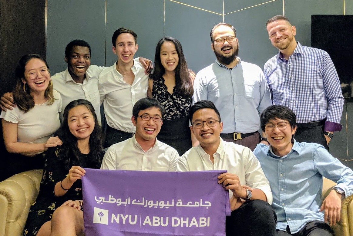 NYU Abu Dhabi alumni gather for an event in Singapore