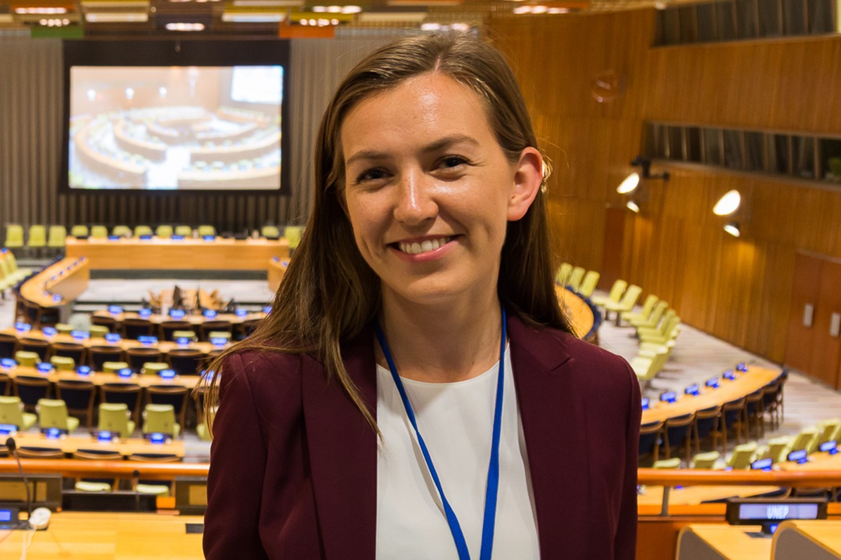 Tiril Rahn, Class of 2020, was an intern at the UK Mission to the United Nations in New York.