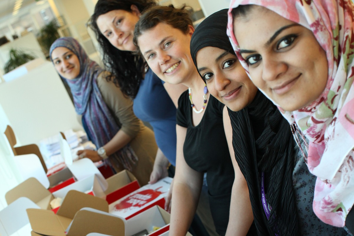 NYUAD Participates in Box Appeal Initiative