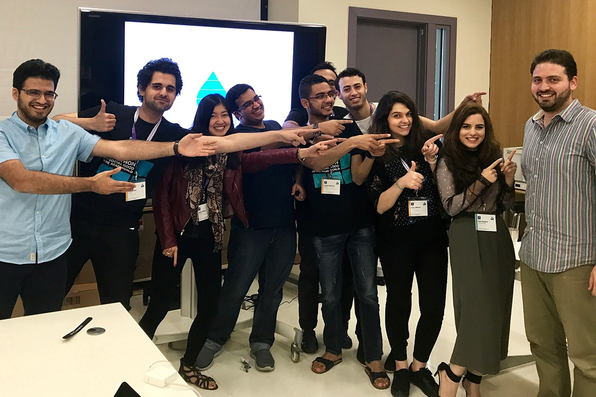 The 2017 Annual NYUAD International Hackathon for Social Good in the Arab World