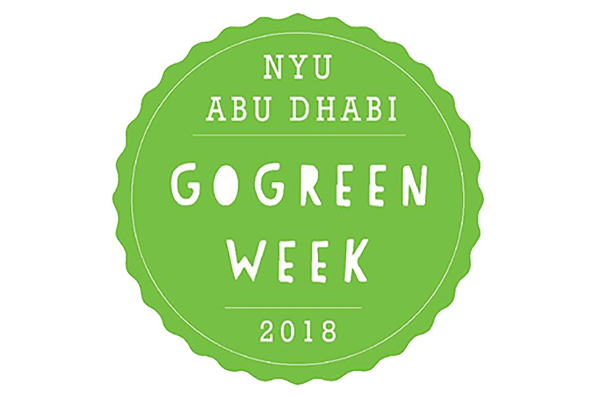 NYUAD Go Green Week 2018