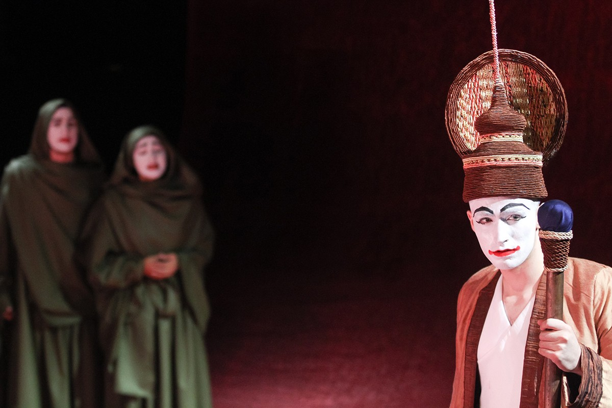 NYUAD Students in a Theatrical Production of The Ramayana at Manarat Al Saadiyat