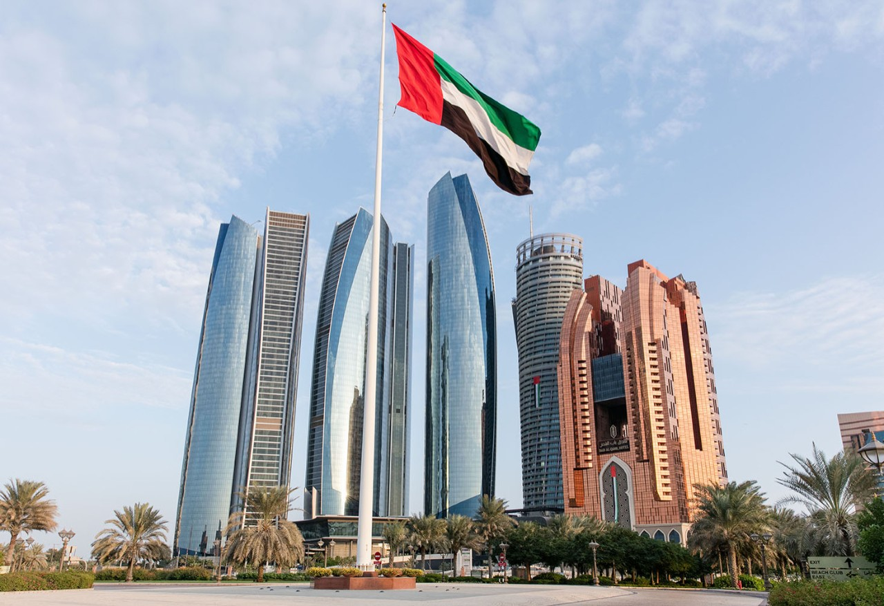 Buildings in Abu Dhabi