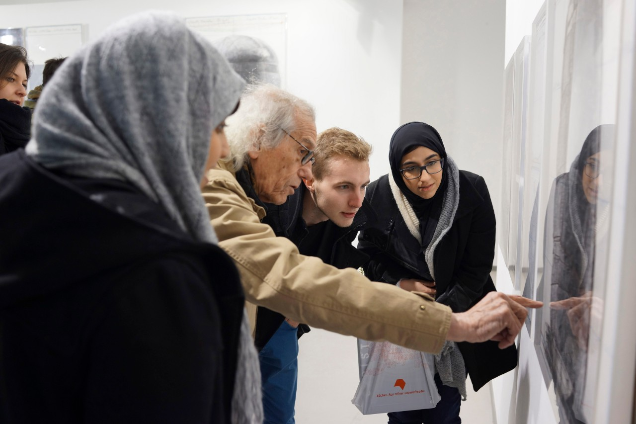 NYUAD Sophomore Hosted in Germany by Renowned Artist Christo