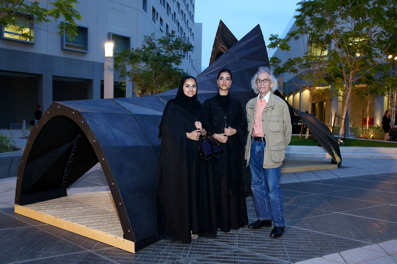 Award-winning Sculpture Unveiled at NYU Abu Dhabi