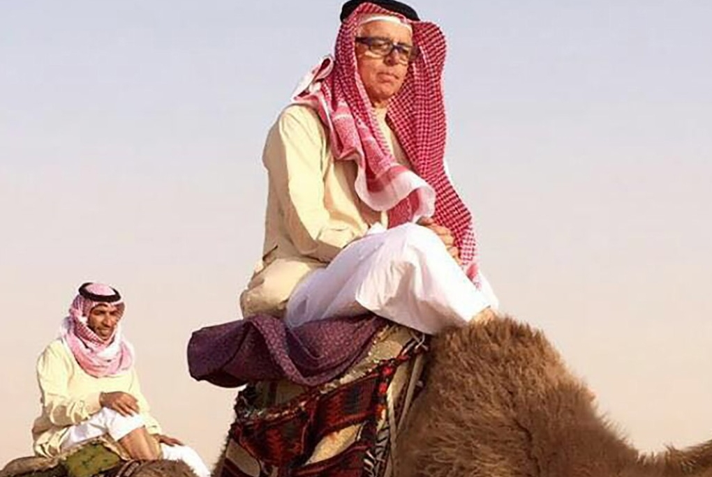 NYUAD Researcher Stars in Arabic TV Series About Bedouin Life