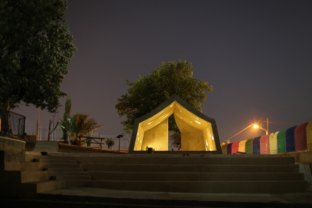 Concrete Tent - Design by DAAR - Photos Anna Sara for Campus in Camps - ....jpg