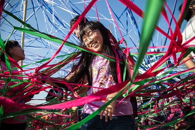 Polyglot Theatre brings an interactive playground for kids in Tangle.