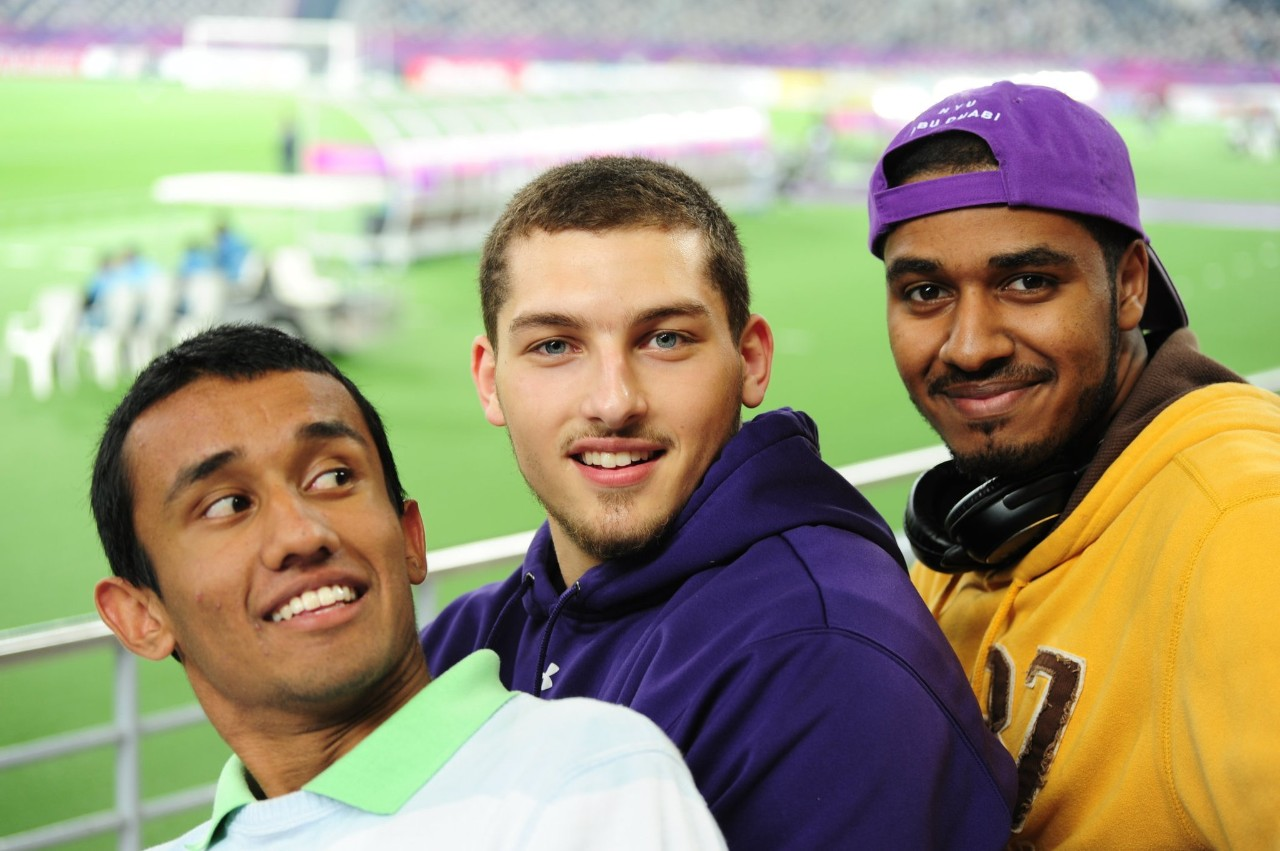 NYUAD Football Builds International Relations During Trip to Qatar