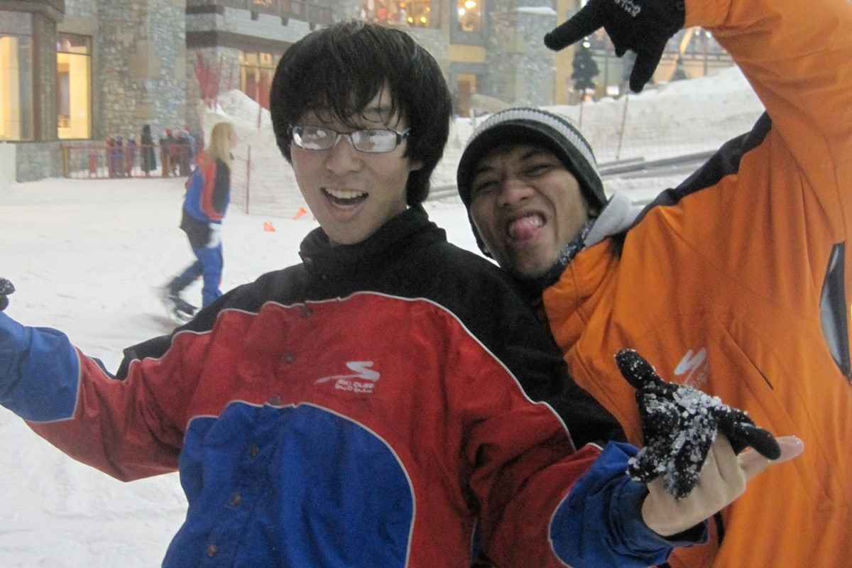 NYUAD Students Hit the Slopes