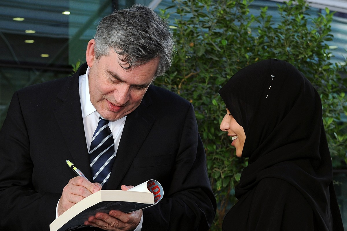 Former UK Prime Minister Gordon Brown to Speak at NYU Abu Dhabi's Second Graduation Ceremony