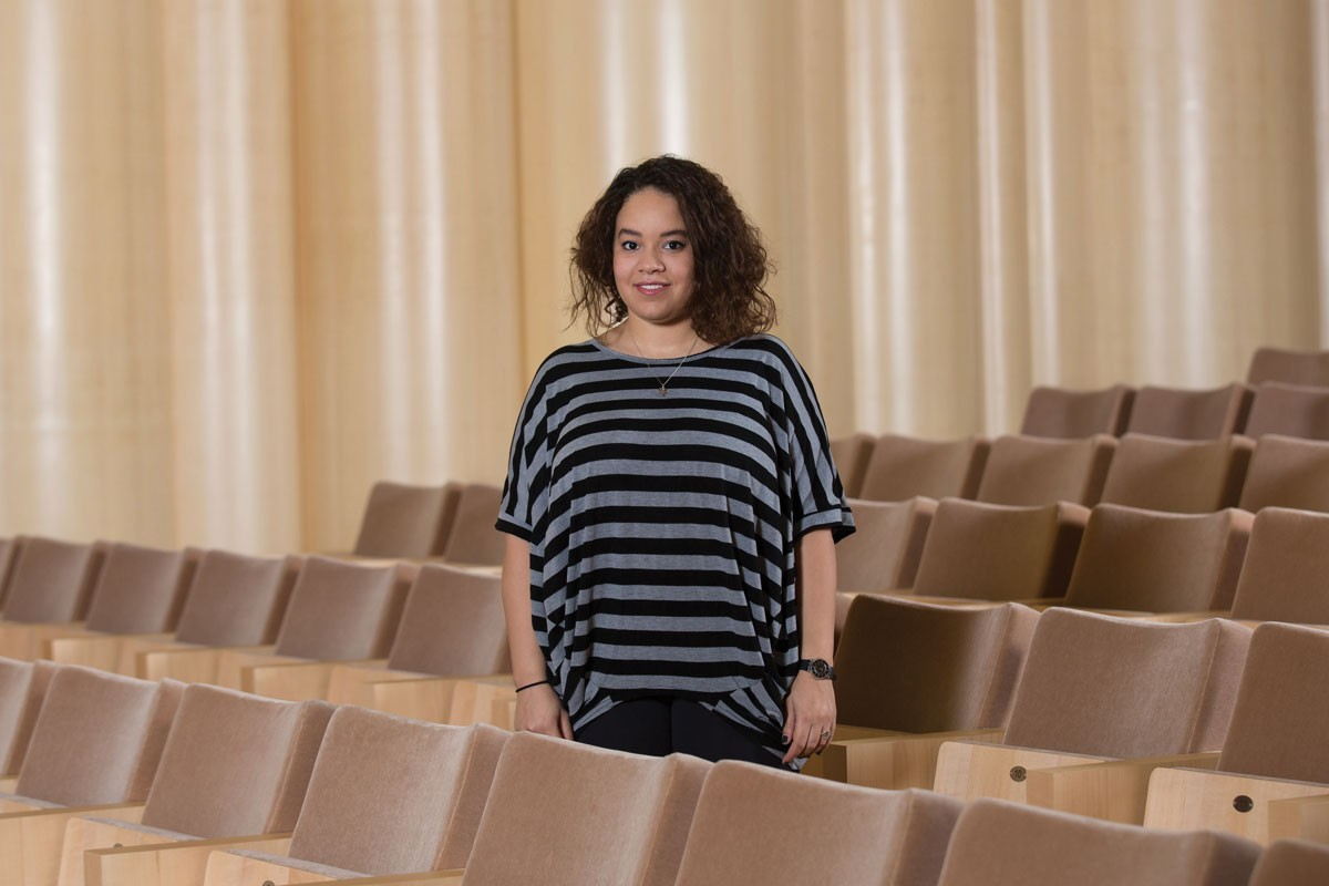 NYUAD Freshman Finds Inspiration at the Future Centre for Special Needs