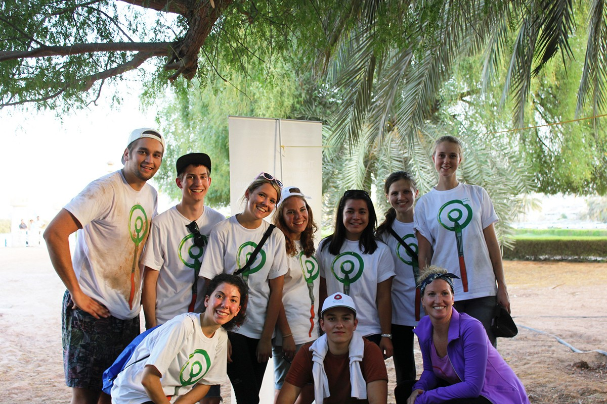 NYUAD Teams Compete in Green Abu Dhabi Mangroves Cleanup