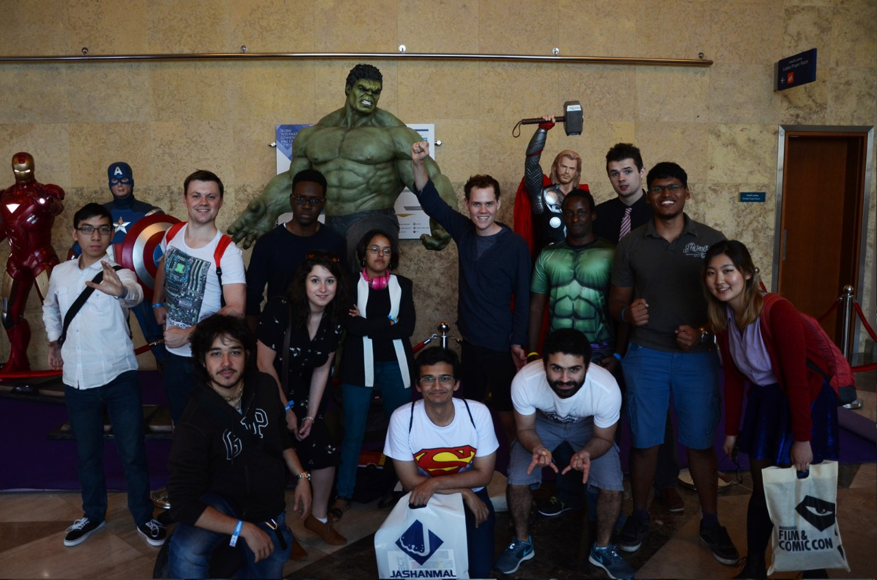 NYUAD Superhero Week Concludes with Comic-Con Visit