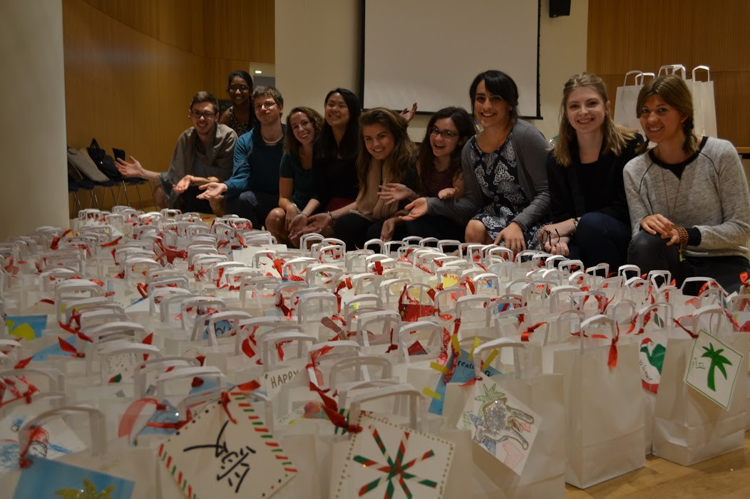 "The NYUAD community says ""Thank you"" with a holiday campaign of giving for the whole campus community."