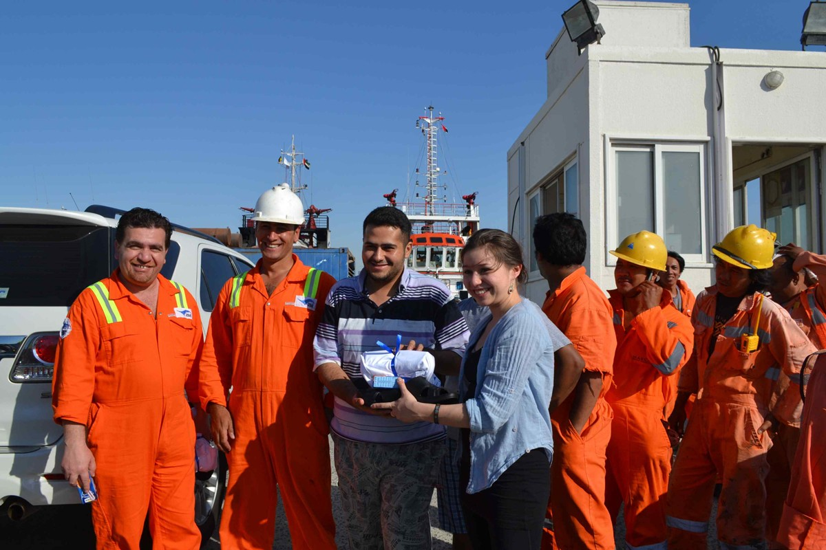 NYUAD Supports Mission to Seafarers Project