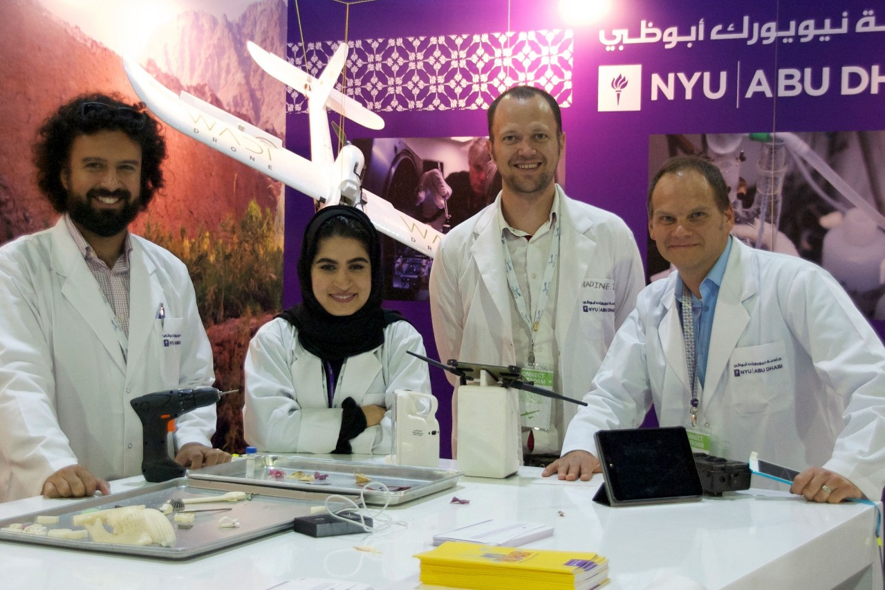 NYUAD Outreach Team Inspires Future Scientists