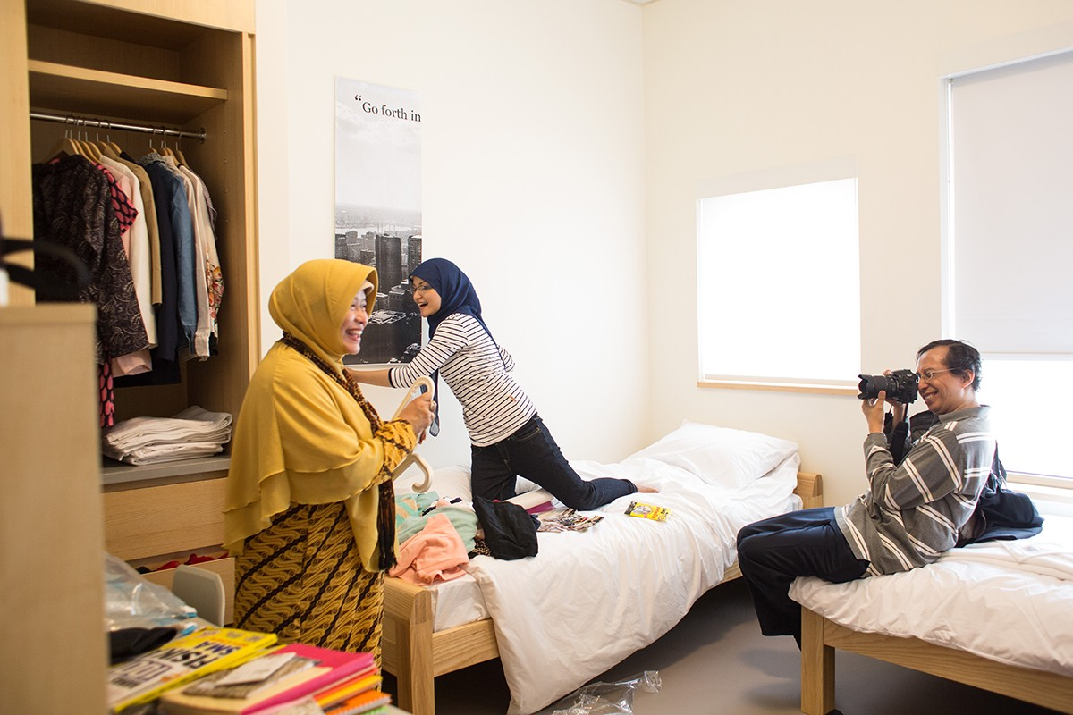 Life in Residence is a World of Difference - NYU Abu Dhabi