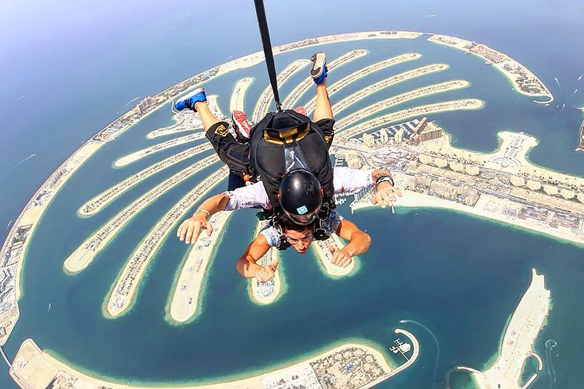 Sky Dive in Dubai