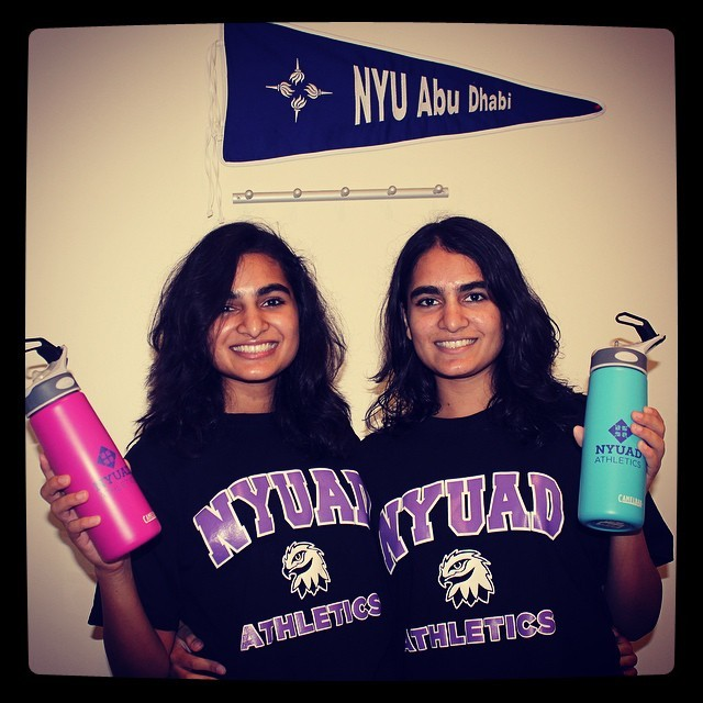 Twins Share Their NYUAD Experience
