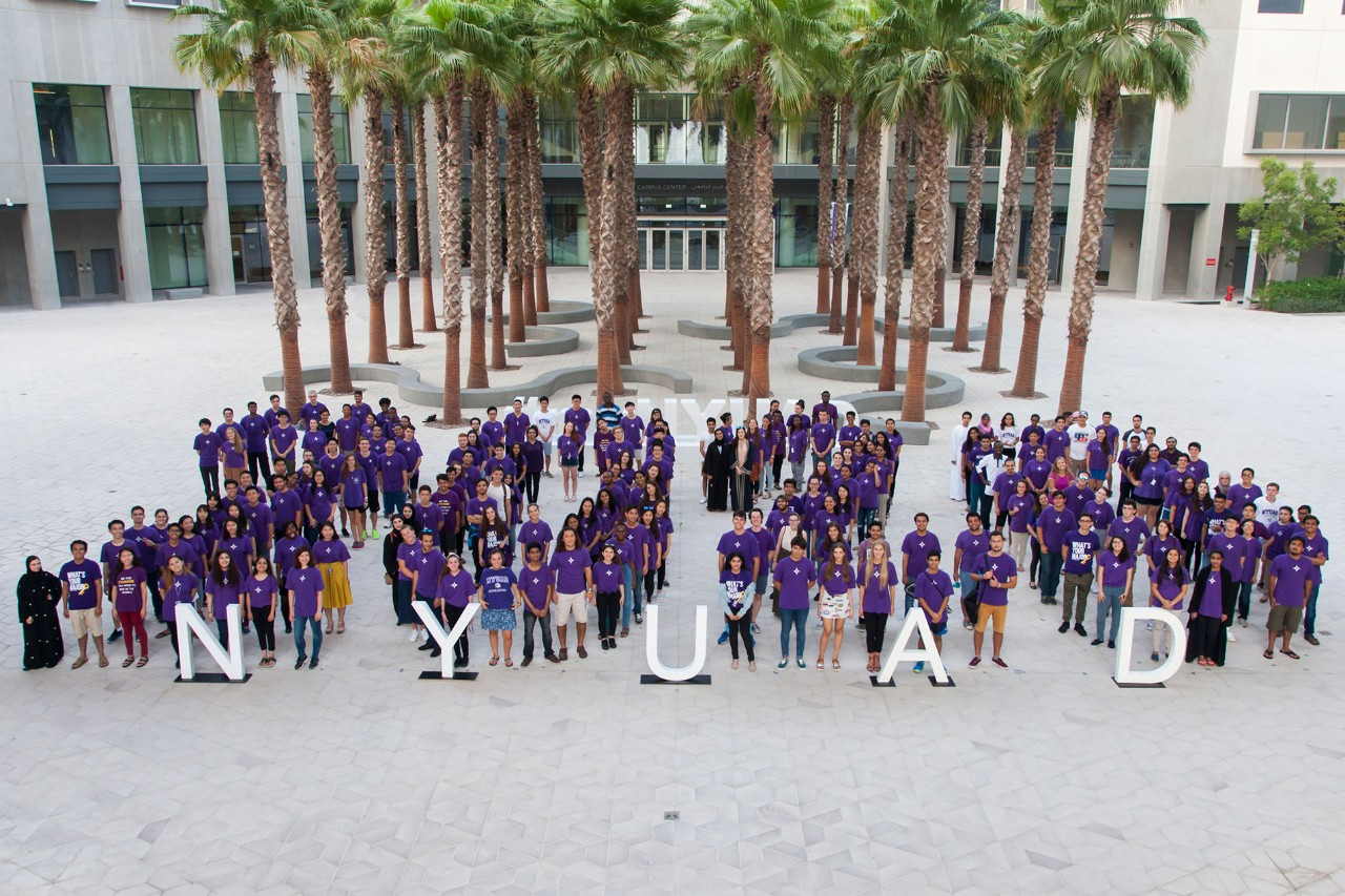 NYU Abu Dhabi's Class of 2020: International Diversity and Multicultural Character
