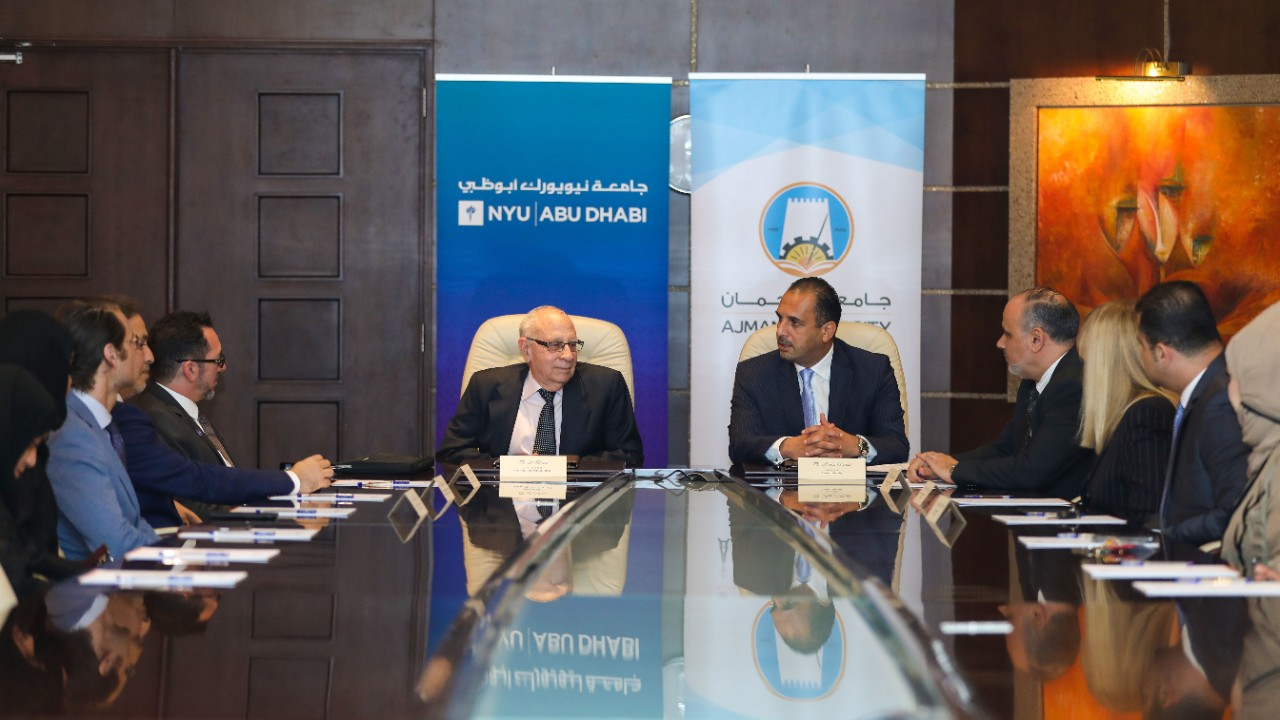 Ajman University & NYU Abu Dhabi sign landmark agreement to advance education and research