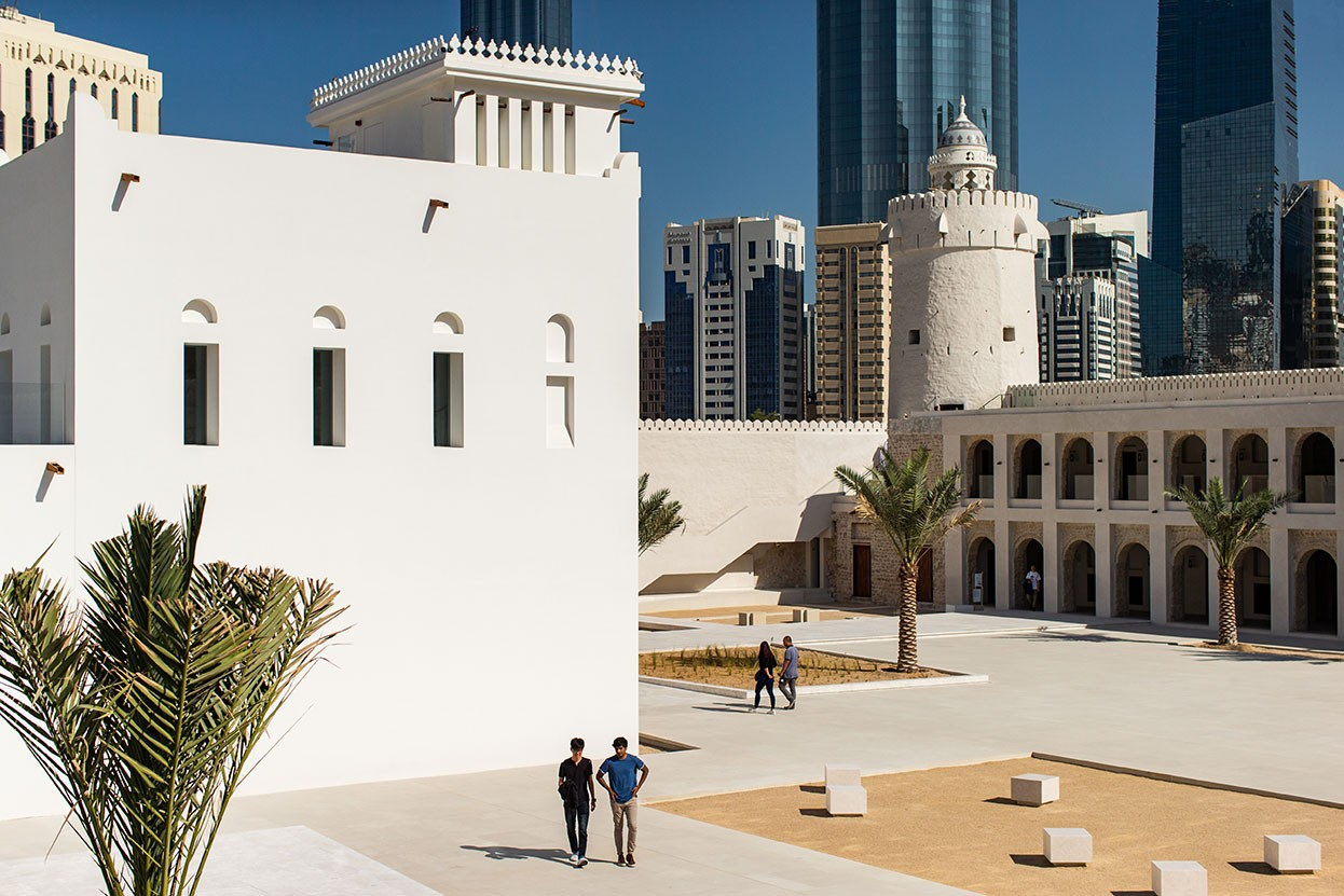 Students visit Qasr Al Hosn during J-Term.