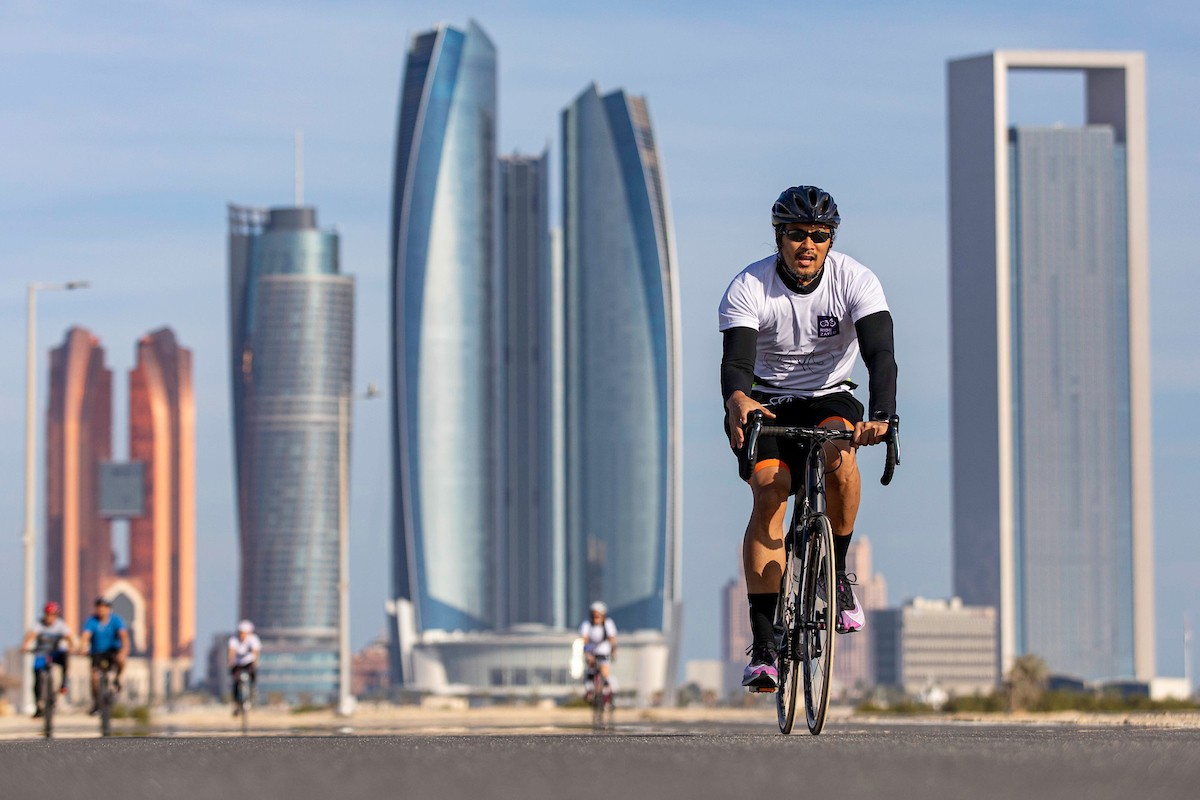 NYUAD's second annual Ride for Zayed at Hudayriat Island