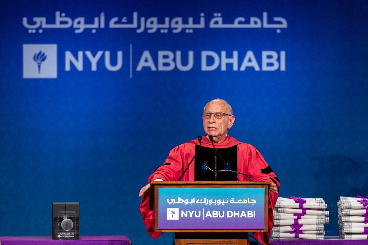 Commencement Exercises at New York University Abu Dhabi in Abu Dhabi, United Arab Emirates on May 27, 2019. Christopher Pike, www.cpike.com