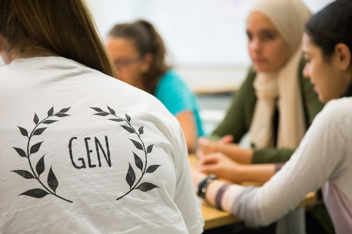 NYUAD Office of Community Outreach, Girls' Education Network (GEN) program.